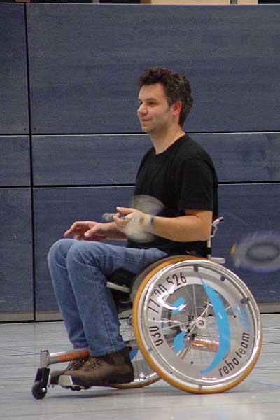 David Holz (RSC Berlin: Para-Badminton)