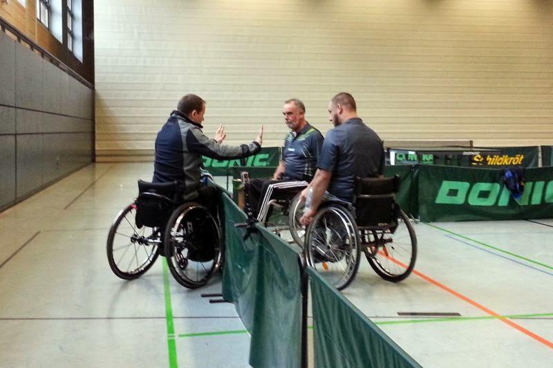 Rollstuhl-TT: RL Nord Saison 2014/15 - 29.11.2014 - 2. Spieltag in Berlin