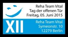 reha team vital - Tag der offenen Tür am 05. Juni 2015