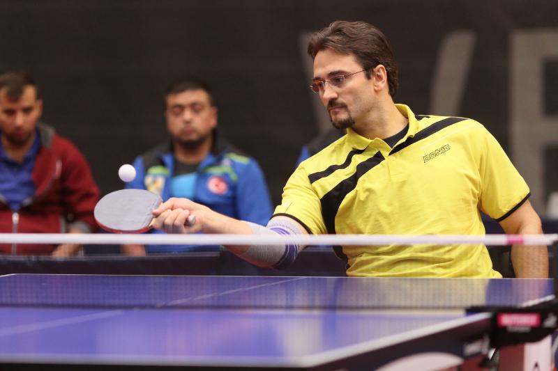 Jan Gürtler (WK3) Para-Tischtennis-Europameisterschaften 2015 in Vejle (DNK) 2/2
