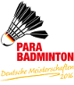 Para-Badminton 18. DM 2016 in Dortmund