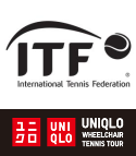 ITF + UNIQLO - Wheelchair Tennis Tour - Logo