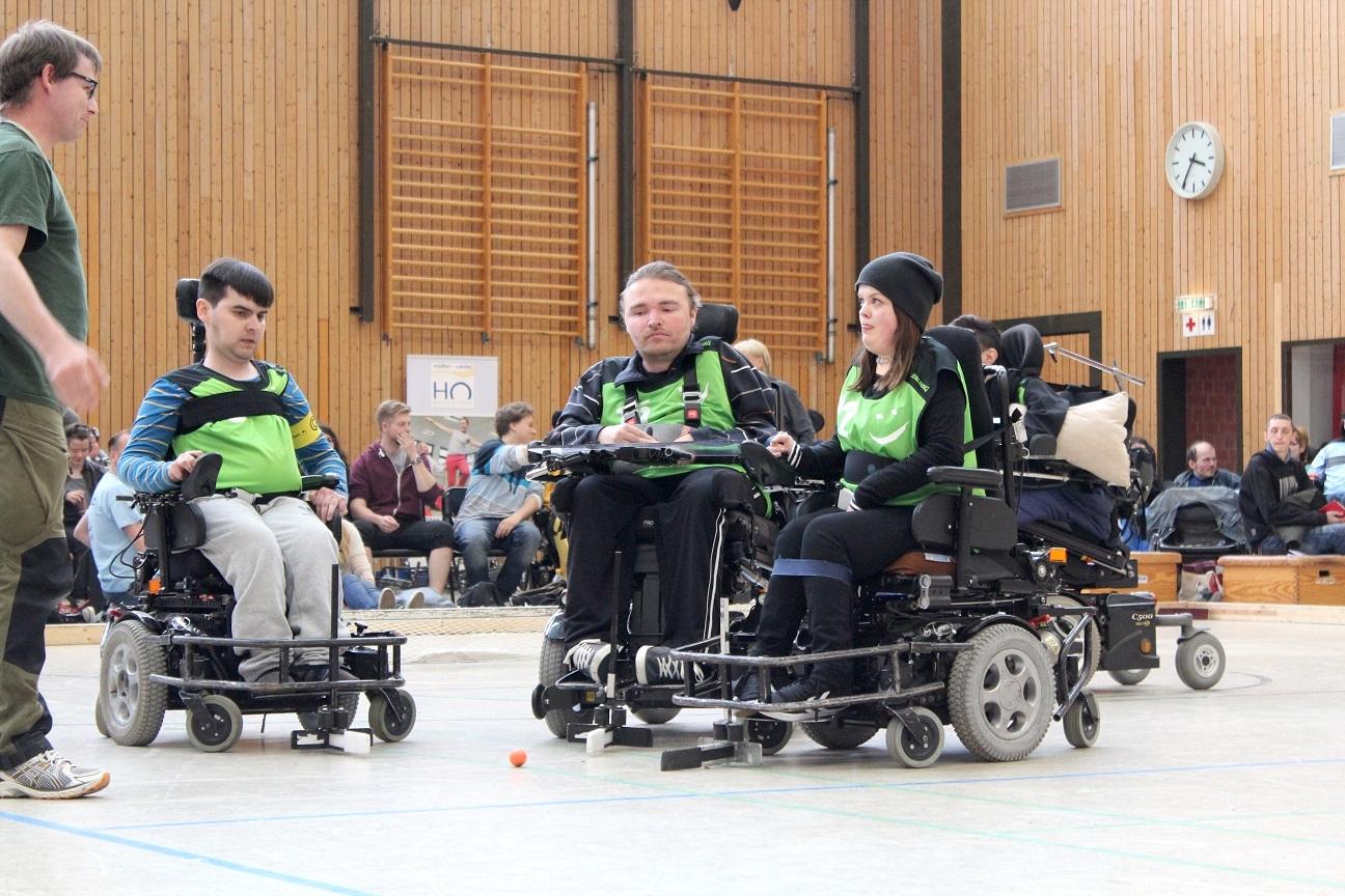 E-Rollstuhl-Sport
