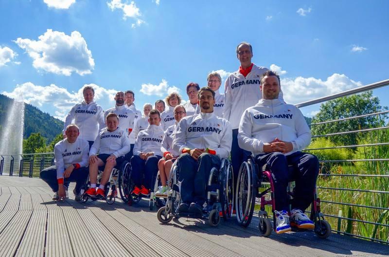 Paralympics 2016 in Rio de Janeiro (BRA) - deutsche Para-TT-Mannschaft