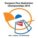 Para-Badminton-Europameisterschaften 2016 - Logo